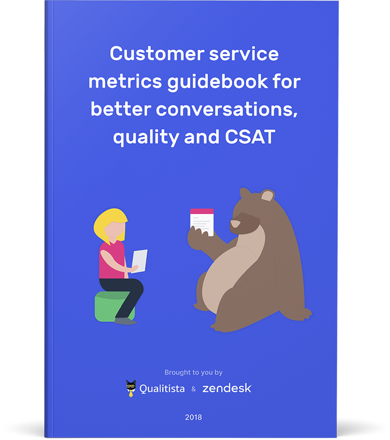 Customer service metrics guidebook for better conversations, quality and CSAT